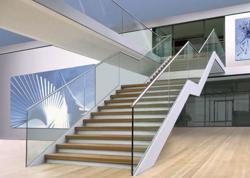 barandillas de cristal escaleras