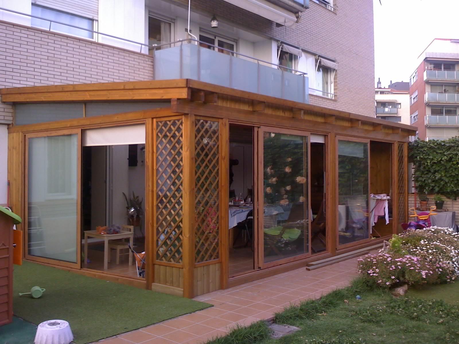Cristaleriabcn cristaleros y carpinteria de aluminio en for Cortinas para terrazas acristaladas